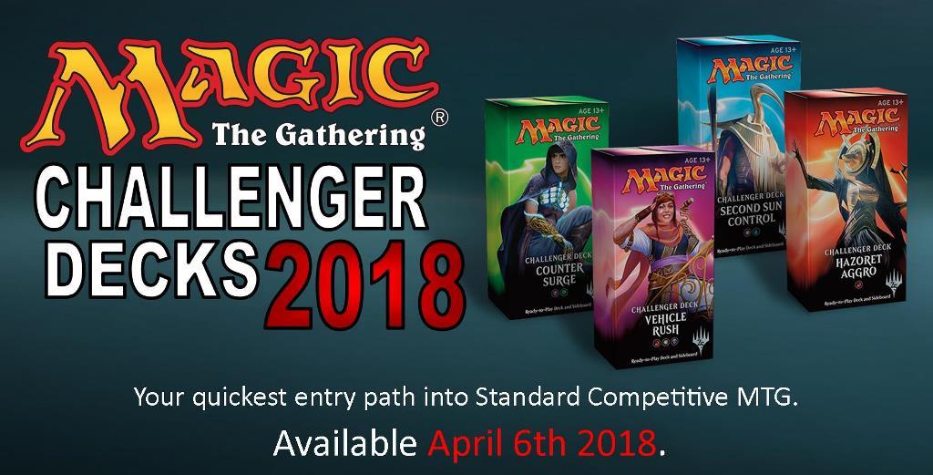 MTG STANDARD CHALLENGER DECKS 2018 | Forbidden Power